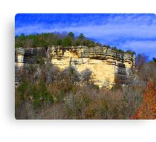 Buffalo River at Kyle's Landing, Arkansas Canvas Print