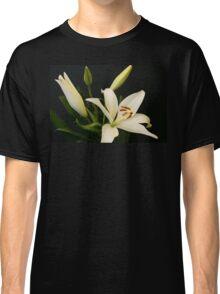 A floral portrait Classic T-Shirt