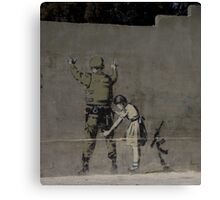 Banksy - The West Bank Canvas Print