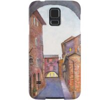 Assisi Street, Umbria, Italy Samsung Galaxy Case/Skin