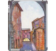 Assisi Street, Umbria, Italy iPad Case/Skin