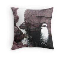 The Arch Hole Throw Pillow