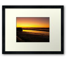 Irish Sundown - Tralee, County Kerry, Eire Framed Print