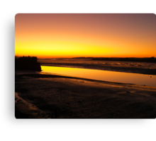 Irish Sundown - Tralee, County Kerry, Eire Canvas Print