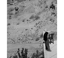 Muslim Woman, Petra Jordan Photographic Print