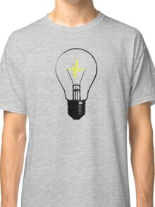 Lightbulb Heartbeat Classic T-Shirt