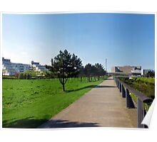 Thames Barrier Park Poster