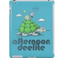 Afternoon Deelite. iPad Case/Skin
