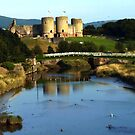 Rhuddlan Castle and River Clwyd by artfulvistas
