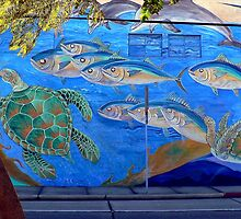 Something Fishy in the Barrio by paintingsheep