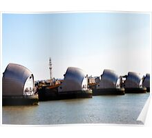 Thames Barrier - Closer Poster