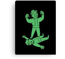 Fallout - SUPER SLAM Perk Canvas Print