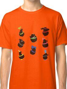 Jr & Koopalings Altogether - Sunset Shores Classic T-Shirt