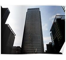 Canary Wharf Building Poster