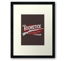 all new BOOMSTICK! Framed Print