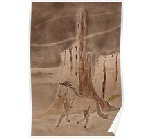 Wild in the desert Poster