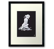 Auto-mutilation Framed Print
