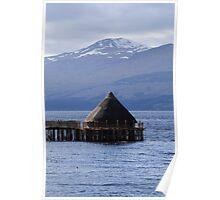 Crannog on Loch Tay Poster