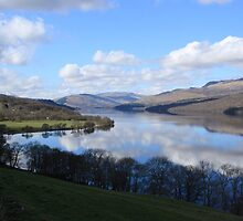 Reflections on Loch Tay by Paul Bettison