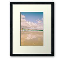 Pastel Reflection Framed Print