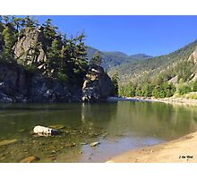 Bromley Rock Provincial Park Canada Photographic Print