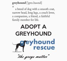 Greyhound Definition by GreyhoundRescue