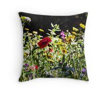 Wild Flowers - Iron Bridge Throw Pillow