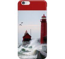 Lighthouse on the Lake iPhone Case/Skin