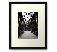 Bridge to Nature Framed Print