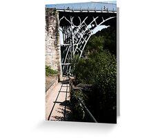 Iron Bridge - Telford Greeting Card