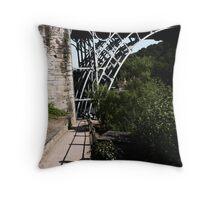 Iron Bridge - Telford Throw Pillow