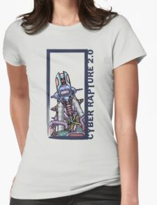 Cyber-Rapture 2.0 Womens Fitted T-Shirt