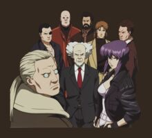 ghost in the shell motoko kusanagi batou section 9 anime manga shirt by ToDum2Lov3