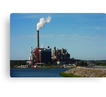 Power Plant Canvas Print