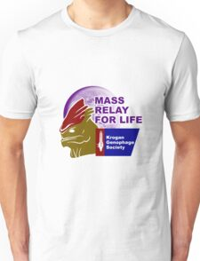 Mass Relay for Life - Genophage Awareness Unisex T-Shirt