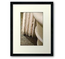 Door Frame Base Framed Print