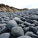 Boulders on the Beach - The Burrows, North Devon by BlackhawkRogue