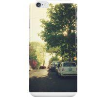 City sunset  iPhone Case/Skin
