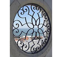 Window Out - Lisbon, Portugal Photographic Print