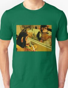 Musical Jolly Chimp Brushes His Teeth Unisex T-Shirt