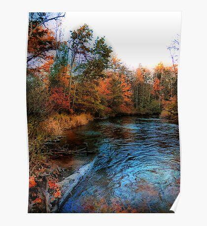 Autumn Reflection In Bear Creek Poster