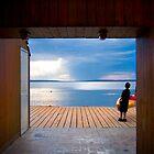 Cedar Frame - Waskesiu by Davin Andrie
