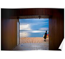 Cedar Frame - Waskesiu Poster