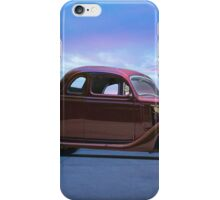 1935 Ford 5 Window Coupe iPhone Case/Skin