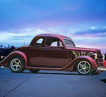 1935 Ford 5 Window Coupe by DaveKoontz