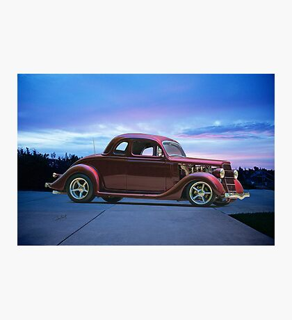 1935 Ford 5 Window Coupe Photographic Print