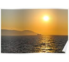 Ionian Sunset Poster