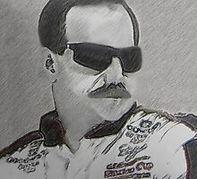 DEDICATION TO DALE EARNHARDT SR. (INTIMIDATOR) NASCAR ..PILLOW AND OR TOTE BAG by ✿✿ Bonita ✿✿ ђєℓℓσ