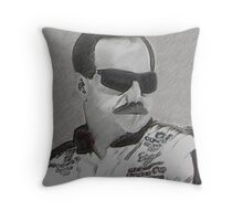 DEDICATION TO DALE EARNHARDT SR. (INTIMIDATOR) NASCAR ..PILLOW AND OR TOTE BAG Throw Pillow