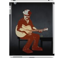 Character from the 'Burnt Out by the Light' video iPad Case/Skin
